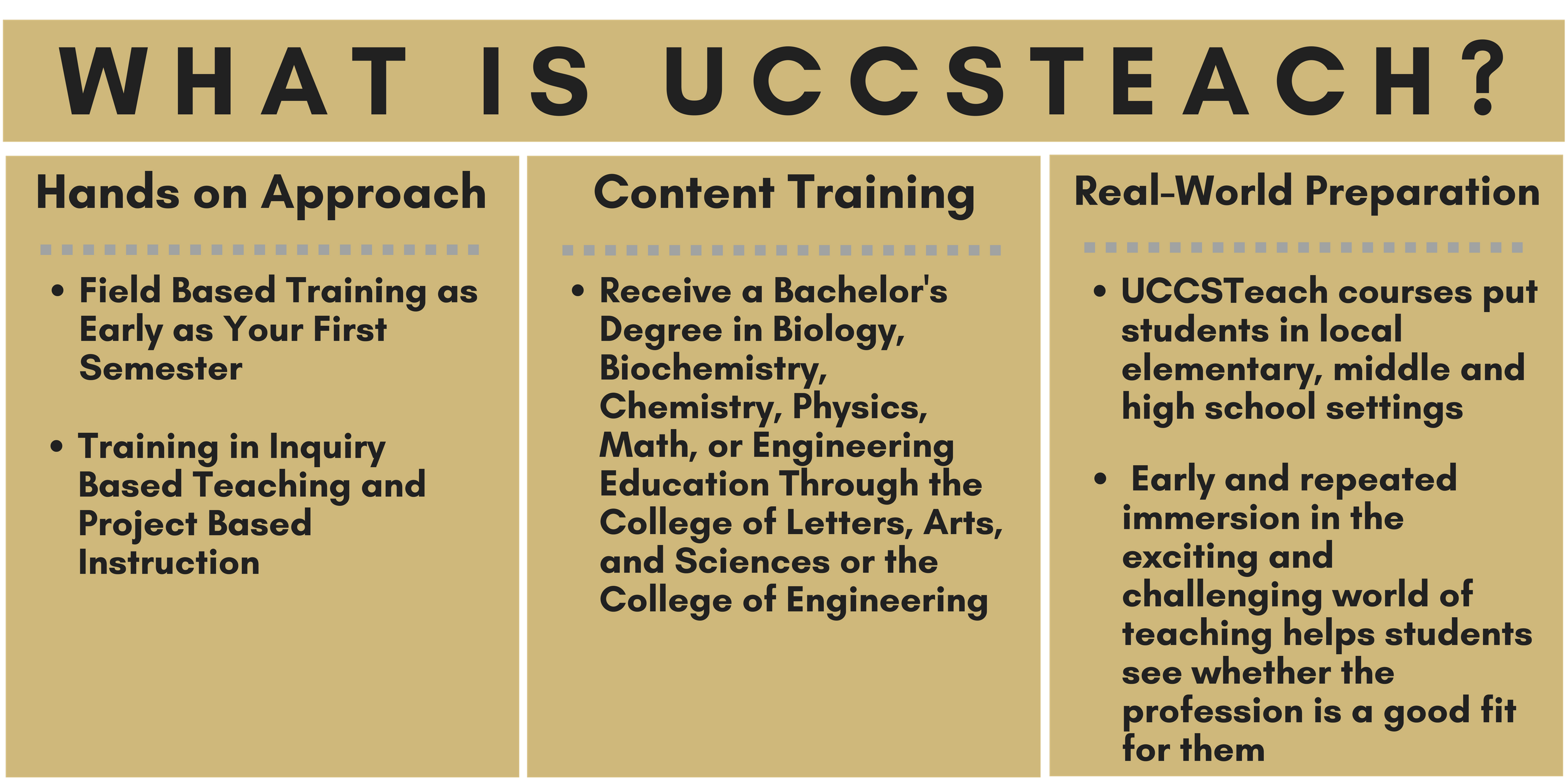 what is UCCSTeach
